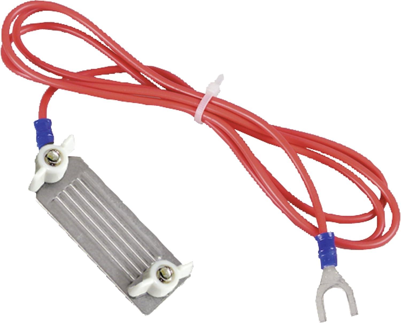 Cable de raccordement cloture ligneruban, acier, avec fiche 3 mm, pour rubans 40 mm, l'unité - 170601 l' unité - 170601 GetReyEU