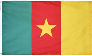 product image for Annin Flagmakers Model 191266 Cameroon Flag 3x5 ft. Nylon SolarGuard Nyl-Glo 100% Made in USA to Official United Nations Design Specifications.