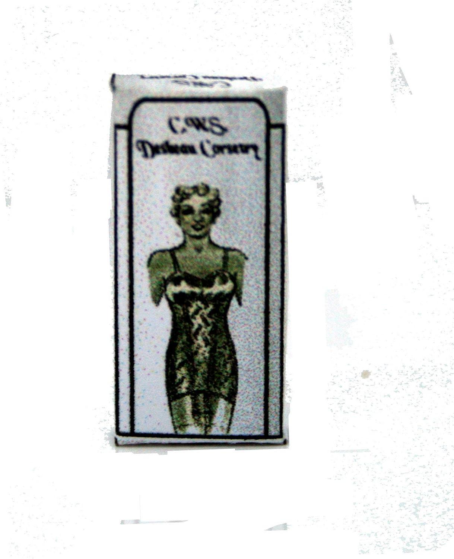 Vintage Bra Box Dolls House Miniature