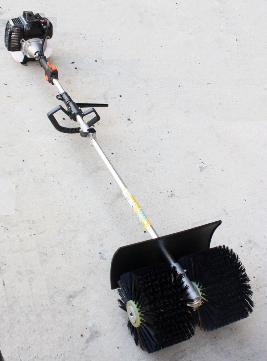 Outdoor Gas Power 52CC Hand Held Artificial Grass Broom Walk Behind Sweeper Concrete Driveway Cleaning Tools High Performance Cleaner - Skroutz