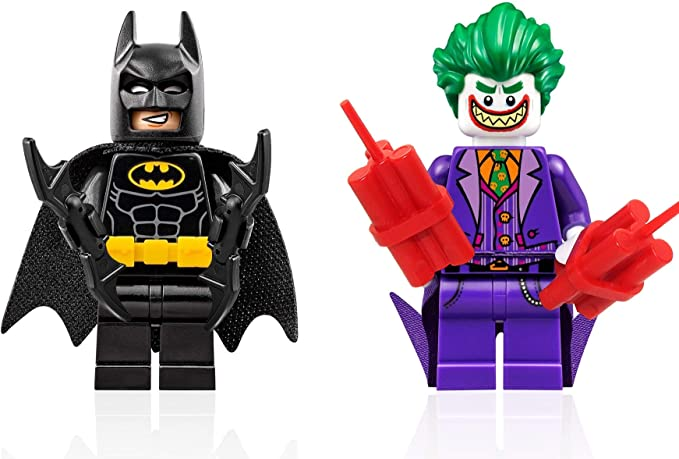 The LEGO Batman Movie Minifigure - Batman and Joker with Grin Combo
