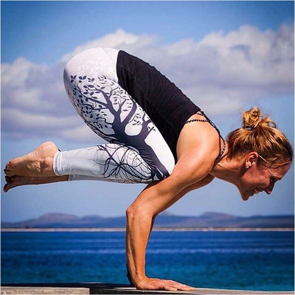 ODJOY-Fan Pantaloni Dimagrante Donna Sportive Vita Alta Leggings Anticellulite Donna Fitness Fa Sudare e Effetto Snellente e Push Up Idele per Yoga Running Palestra
