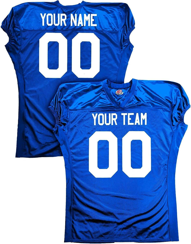 fully customizable football jerseys