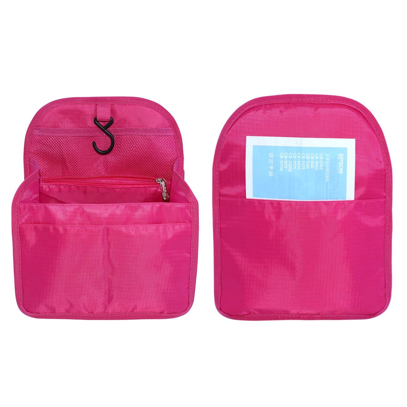 APSOONSELL Nylon Hanging Backpack Organiser Insert,Bag in Bag Shoulder Rucksack Bags Handbag Organizers for Women and Girls Black M