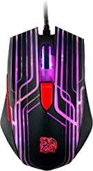 5f54b9fe50b Tt eSPORTS Talon Optical Multicolors LED Gaming Mouse, 6 Buttons, 3000 DPI  Sensor,