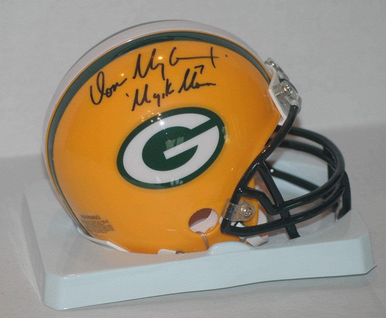 Don Majkowski Signed Packers Helmet