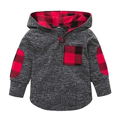 Bestow Top Infantil de Invierno Sudadera con Capucha Pullover Tops Ropa de Abrigo Ropa para niñas: Amazon.es: Ropa y accesorios