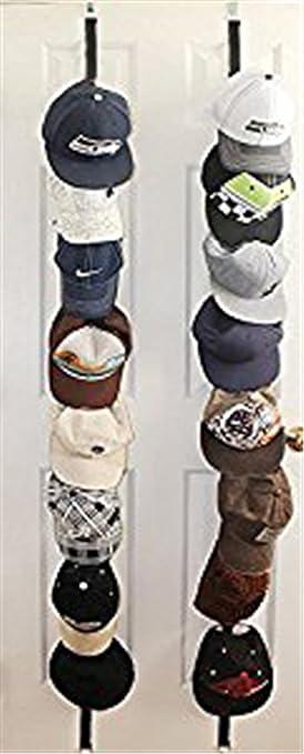 ZARO Hat Holder For Door, Adjustable Bag Hanger For Closet Cap Rack  Baseball Hat Storage