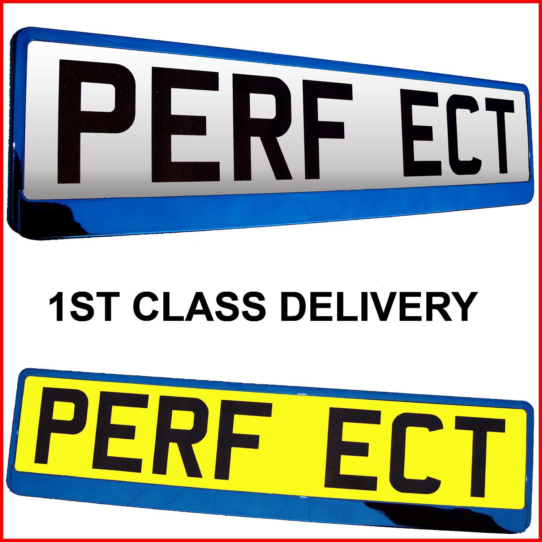 RED TAPORT/® Car Registration License Number Plate Surrounds Holder Frame ALL STYLES