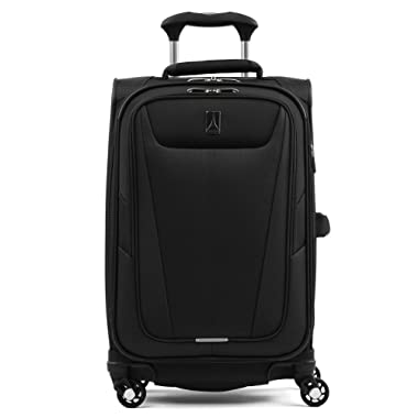 Travelpro Maxlite 5 Lightweight Carry-on 21  Expandable Softside Luggage Black, 21-inch
