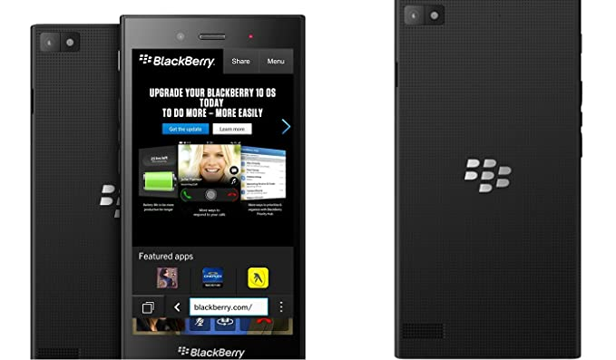 Blackberry Z3 No Contract Phone - Retail Packaging - Black