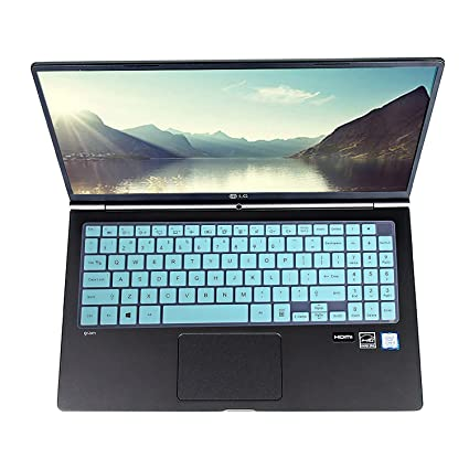 Leze - Ultra Thin Keyboard Cover for LG Gram 15Z970 15Z975 15Z980 17Z990  FHD Thin and Light Laptop - Mint