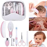 Baby Grooming Kit, 7pcs/Set Safe Hair Comb