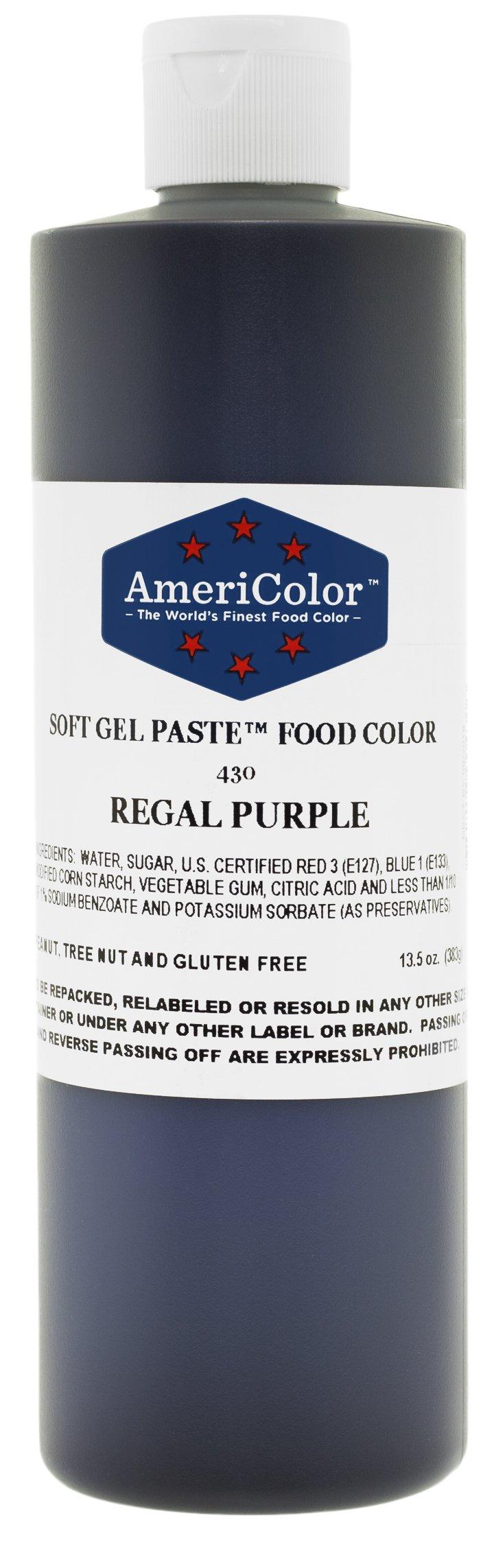 Americolor Gel colour, 131/2-Ounce, Regal Purple by AmeriColor (Image #1)