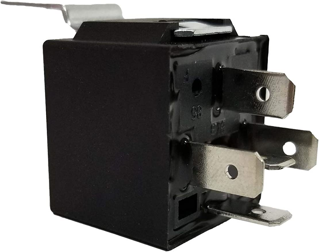 Bass Rockers Single 12V 30//40 Amp 5-Pin SPDT Automotive Relay Wires /& Harness Socket 1