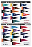 NFL Rank 'Em All 32 Teams Mini Pennant Magnet