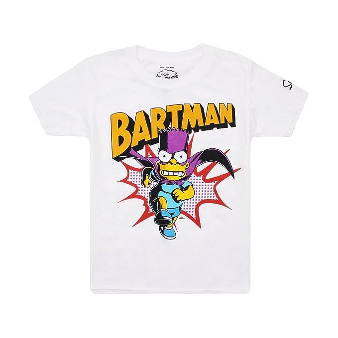 Simpsons Bartman, Camiseta para Niñashttps://amzn.to/2Sc1wlv