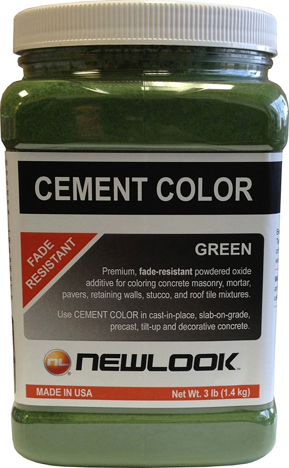 CEMENT COLOR 3 lb. Green Fade Resistant Cement Color