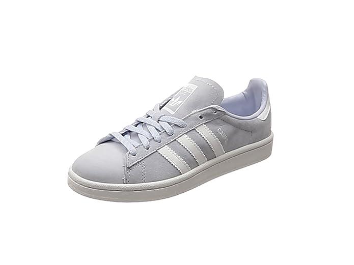 adidas Campus Sneaker Damen Grau mit weißen Streifen