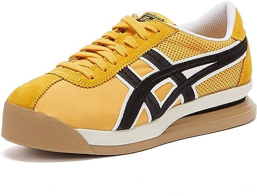 Onitsuka Tiger Corsair Ex Mesh Zapatillas Amarillas/Negras para Hombre-UK 8 / EU 42.5: Amazon.es: Zapatos y complementos