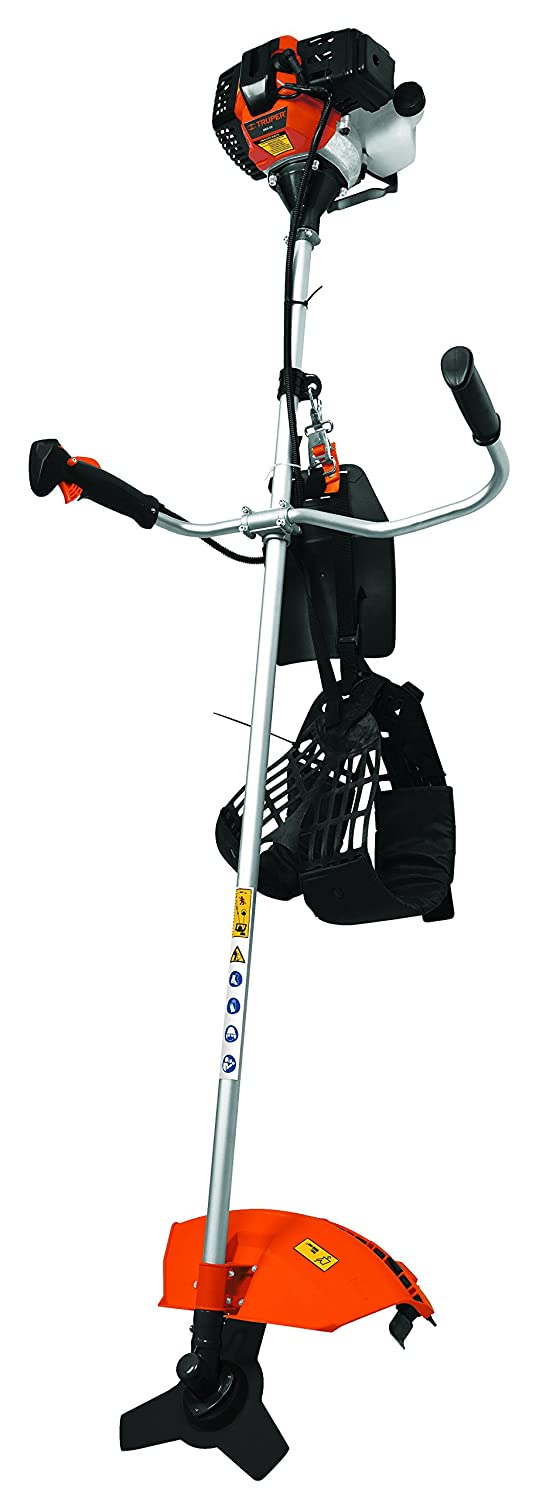 Amazon.com: TRUPER DES-43 Gas-Powered Brushcutter 43cc, Bike ...