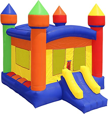 Amazon.com: HQ Bounce Casa 100% PVC. Castillo 16 x 16 de ...