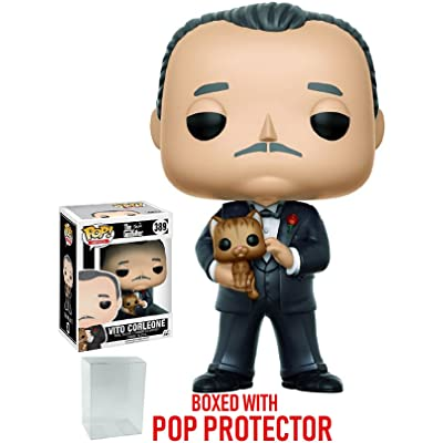 Funko Pop! Movies: Godfather - Don Vito Corleone Vinyl Figure (Bundled with Pop Box Protector Case): Toys & Games