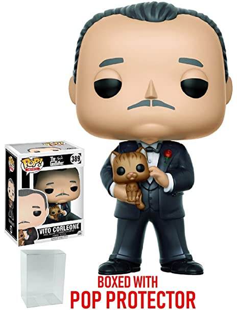 Image Unavailable. Image not available for. Color  Funko Pop! Movies   Godfather Don Vito Corleone Vinyl ... 0a2cc856bebb