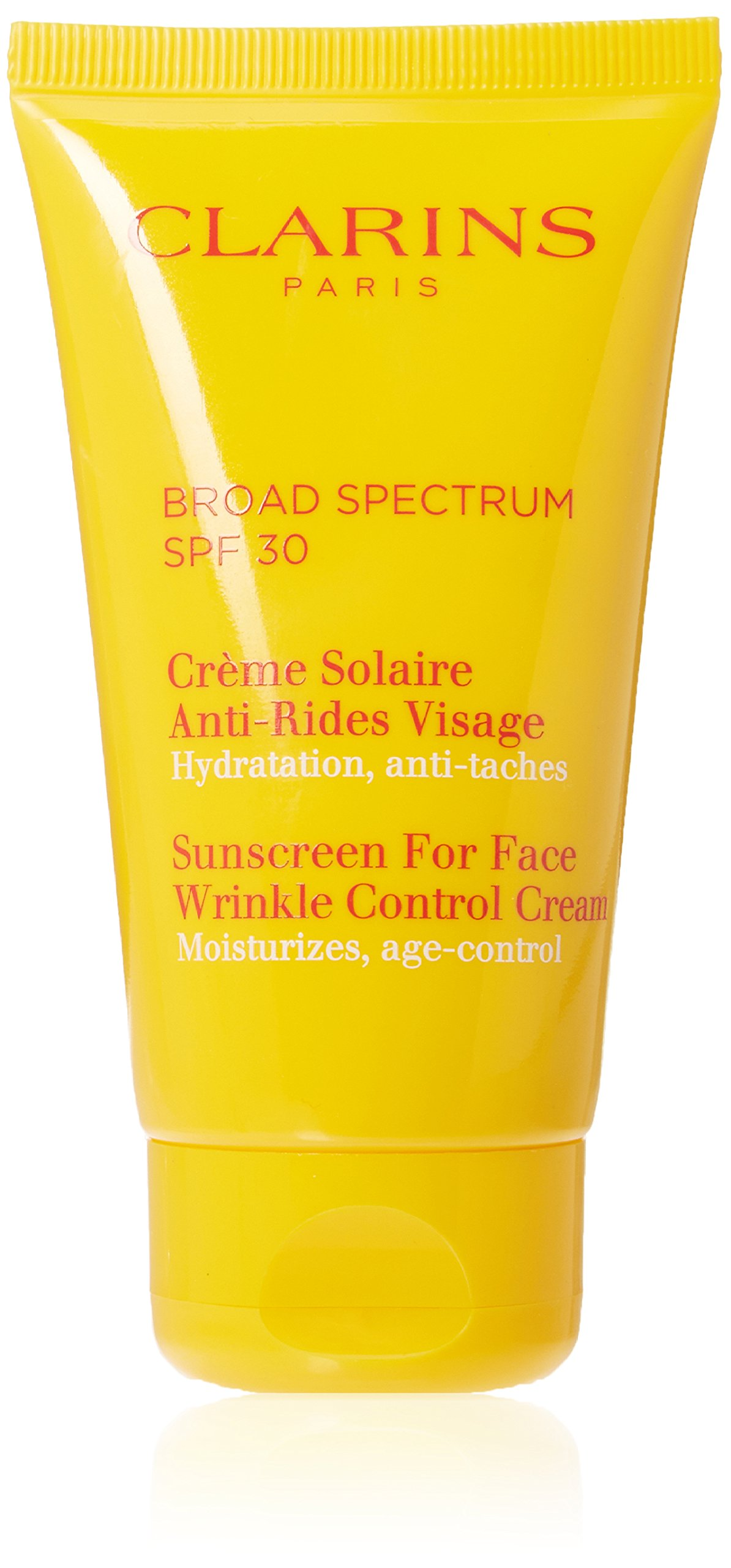 Clarins Sunscreen for Face Wrinkle SPF 30 Control Cream, 2.6 Ounce