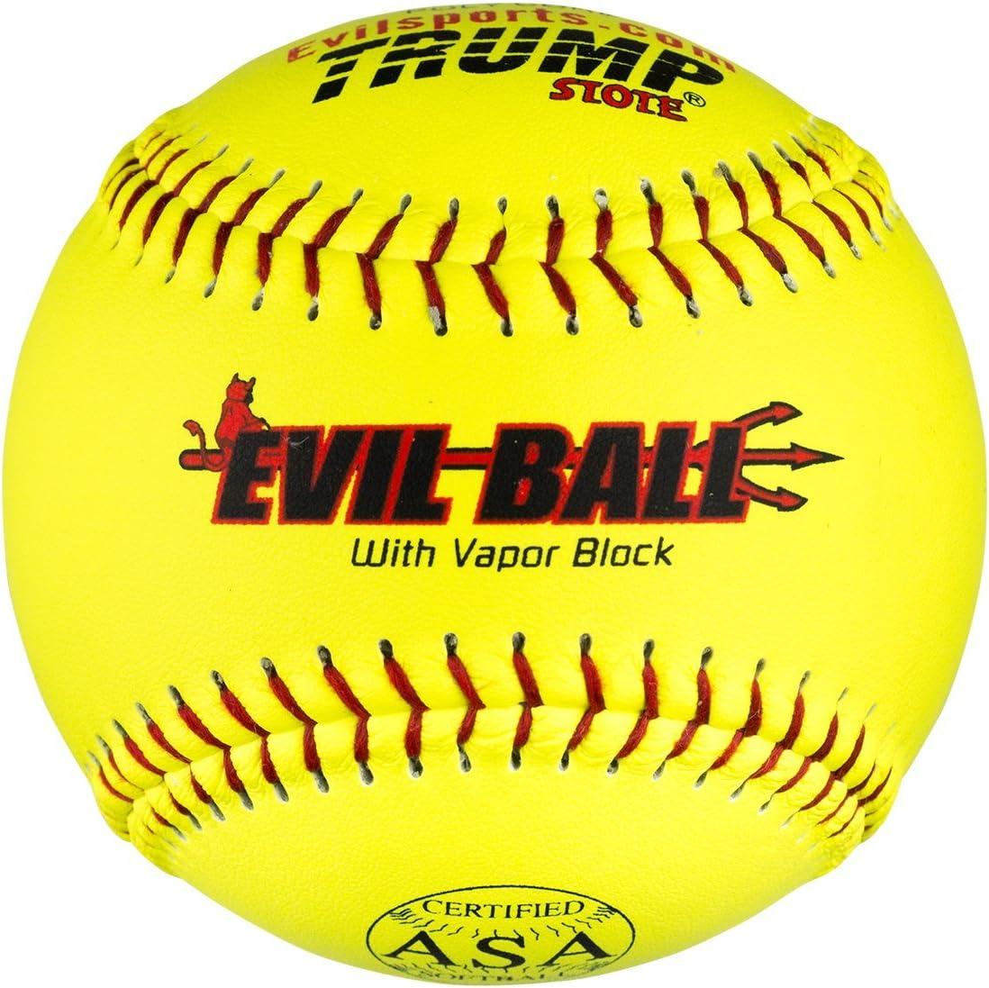 Trump/Evil Sports Media Docena Evil bola asa 12