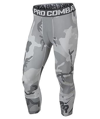 16524b42c68e1 Nike Men's Hyper Cool Three-Quarter Compression Capri: Amazon.co.uk ...