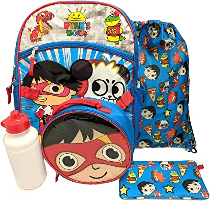 Ryan/'s World 12 inches Toddler Backpack