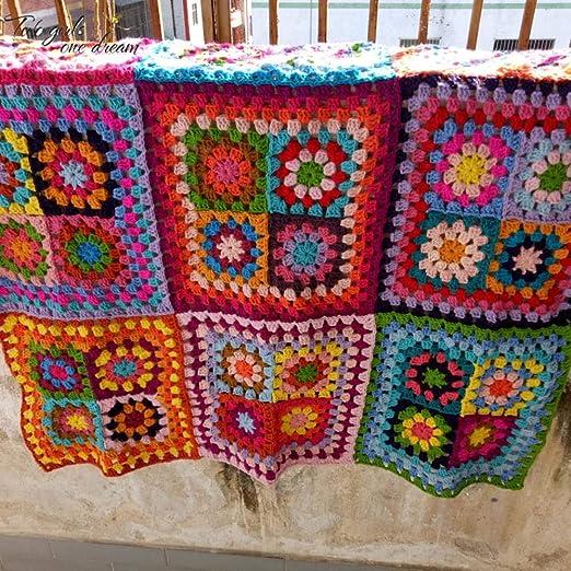 Lili Multifuncional Crochet Manta de Oficina portátil Cojín ...