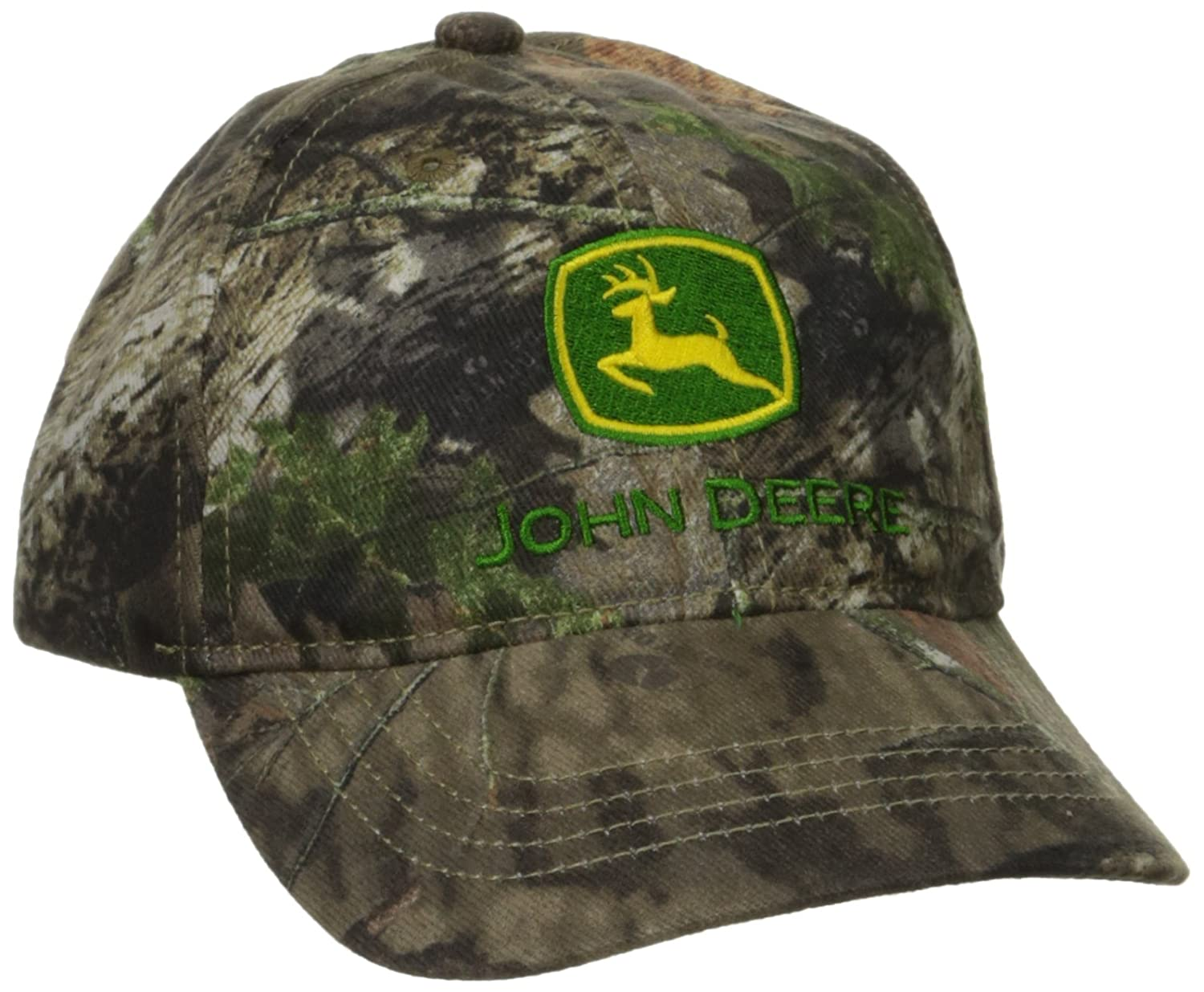 Amazon.com  John Deere Boys  Trademark Mossy Oak Baseball Cap  Clothing c2d9cc017a62