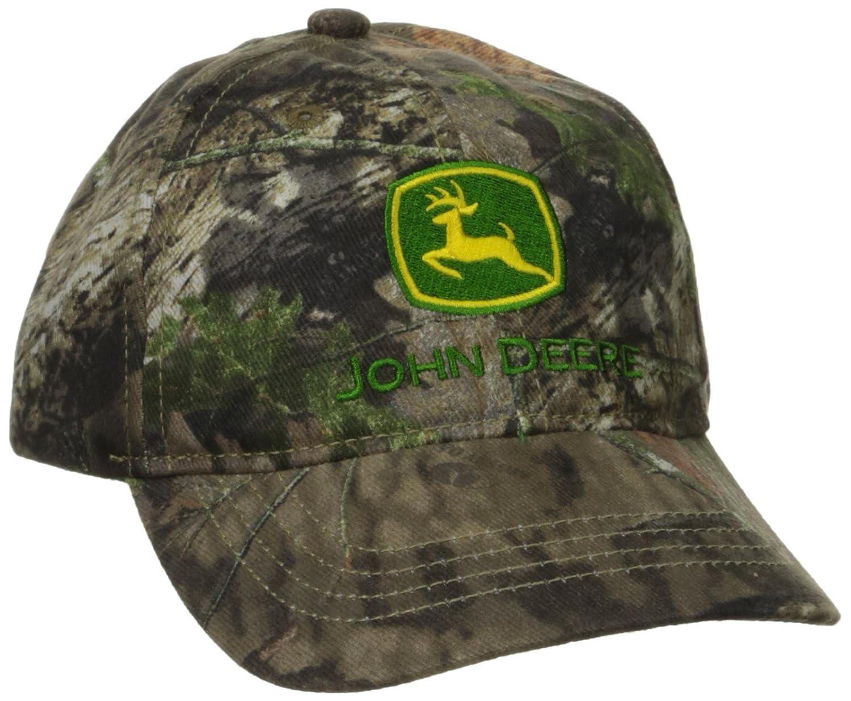 John Deere Boys' Trademark Mossy Oak Baseball Cap JSH563JT