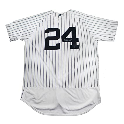06d2ad598 Image Unavailable. Image not available for. Color: Gary Sanchez Signed New  York Yankees Authentic Flex Base Pinstripe ...