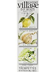 Gourmet du Village Cold Dips Trio, Lemon Dill/Roasted Garlic/Tzatziki, 43.09g