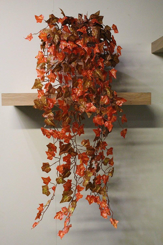 Best Artificial TM 100cm Trailing Ivy Garland Hanging Vine String Plant (Dark English - TI02)