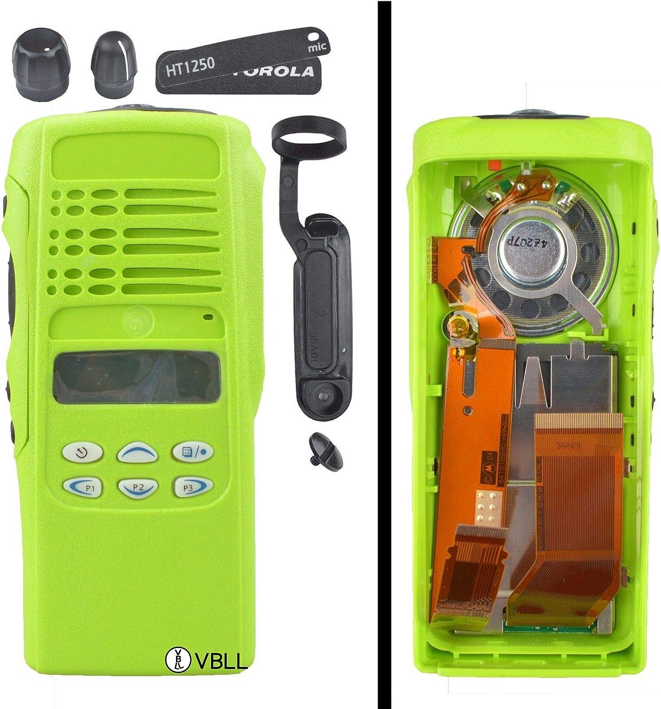 Blue Replacement Repair Case Housing Cover for Motorola GP380 Portable Radio