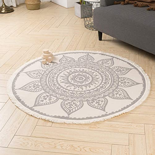 Boho Rug Cotton Area Rug