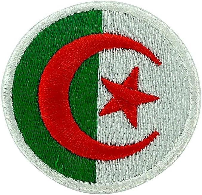 Patch /écusson brod/é drapeau algerie algerien thermocollant insigne backpack