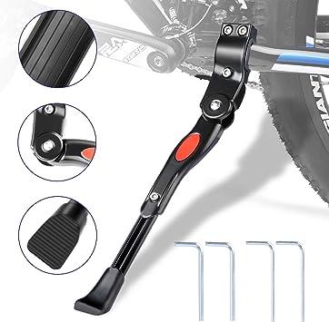 WisFox Bike Kickstand aleación de aluminio lateral de bicicleta ...