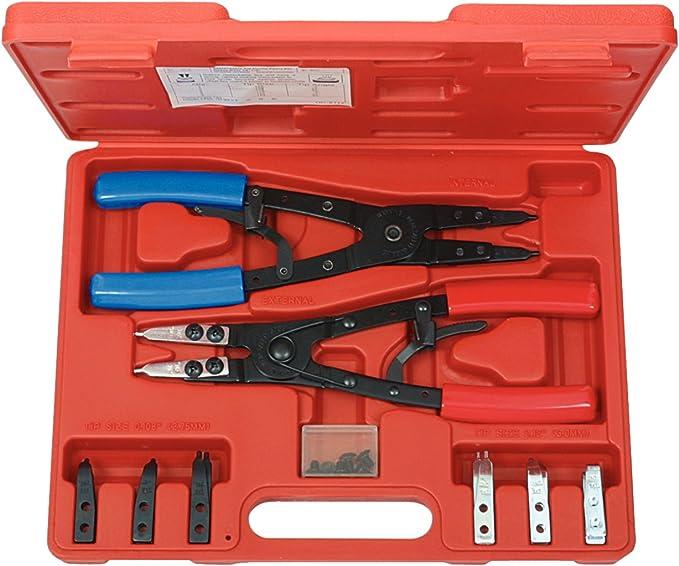 KS Tools 500.1350 Pack alicates para Anillos de retención Seeger ...