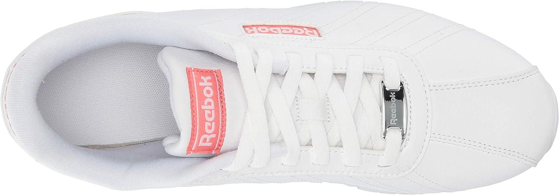 Reebok Cl Xyro 2 Baskets pour femme Blanc Rosette Argenté