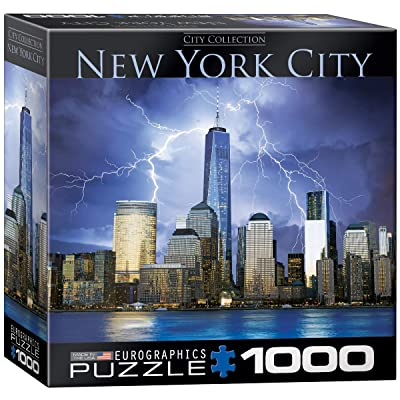 EuroGraphics New York World Trade Center Small Box Puzzle (1000 Pieces): Toys & Games