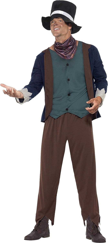 Smiffys - Disfraz de hombre pobre victoriano (43428L): Amazon.es ...