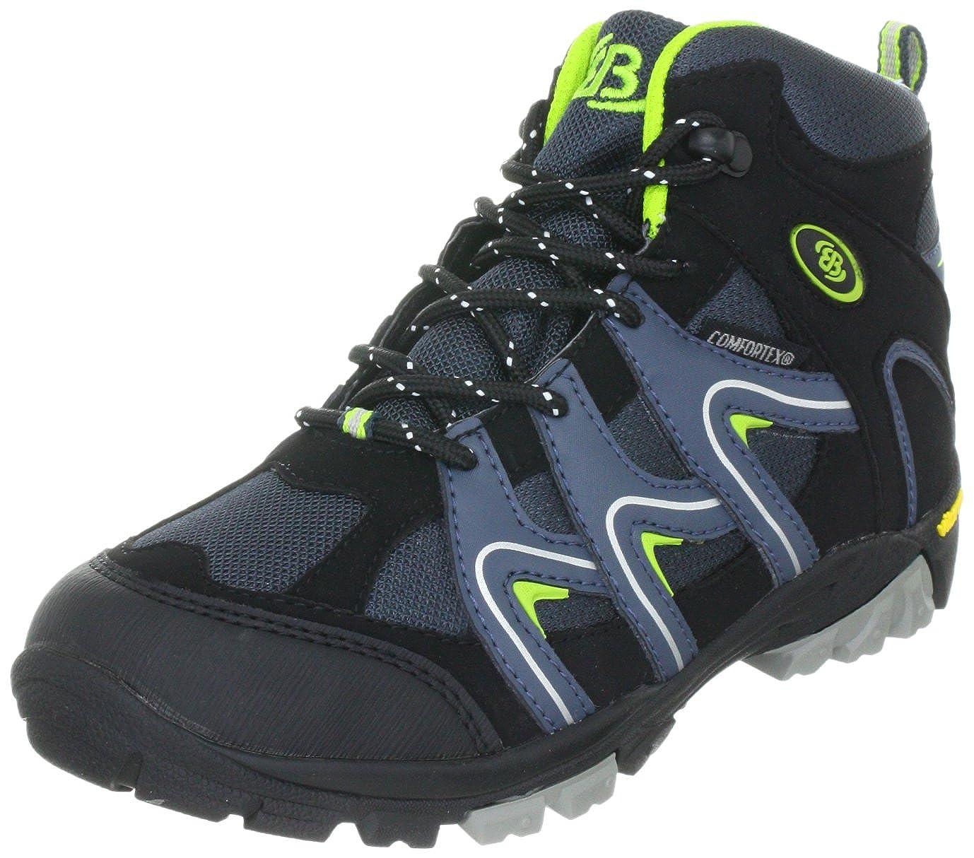 Bleu (Petrol noir Lemon) 36 EU Bruetting Vision high Enfants Vision High Enfants, Chaussures de randonnée garçon