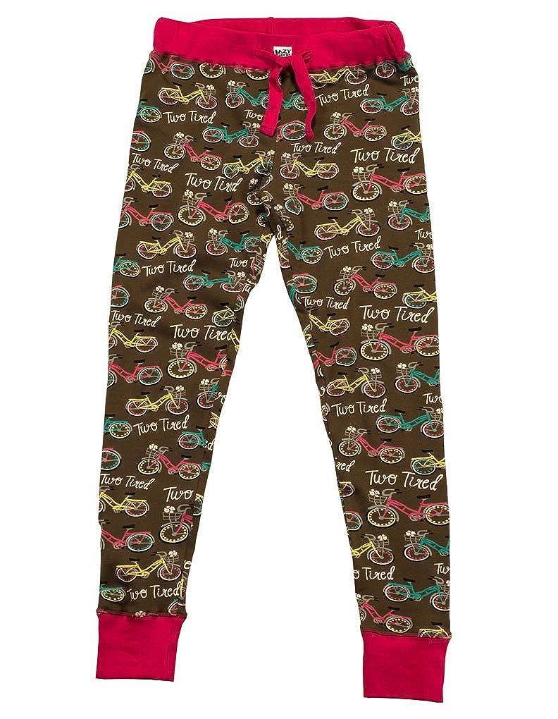 TALLA S. LazyOne Mujer Two Tired Pijama Polainas