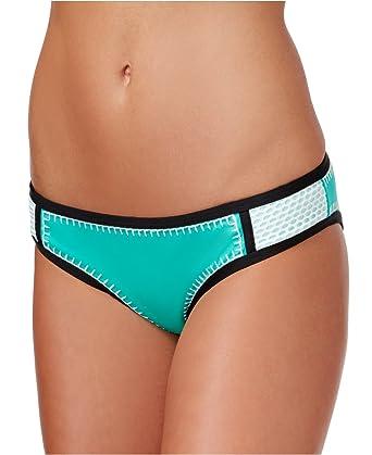 1175a7b1b1 Bar III Women s Whip It Good Colorblocked Hipster Bikini Bottoms (X-Small