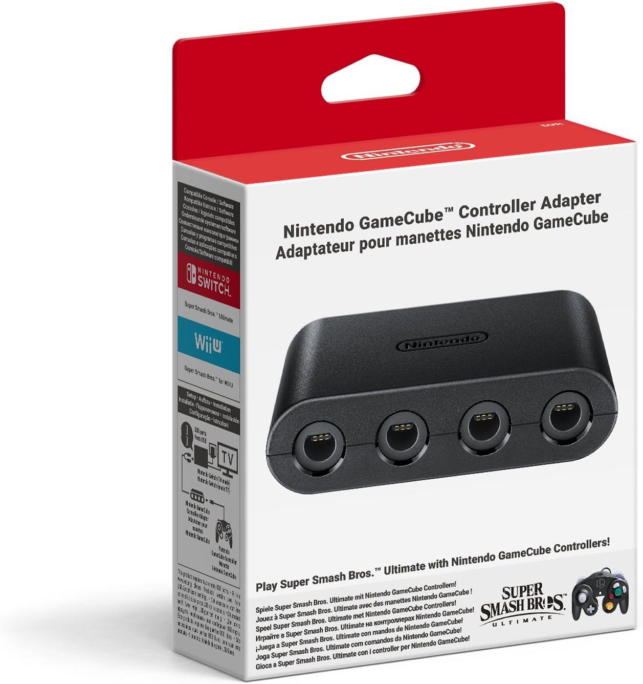 Switch Adaptador para GameCube Controller: Amazon.es: Videojuegos